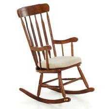 Sedia a dondolo da esterno in legno | Acquisti Online su eBay