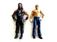 Roman Reigns and Dean Ambrose Summerslam 2015 DTF88 Mattel Action Figures