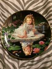 Monday's Child Children Of The Week By Elaine Gignilliat Collectors Plate Mint