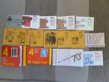 GB 16 x Stamp Booklets - Stamps Intact