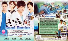 GOOD DOCTOR 굿닥터 好医生 (1-20 End) Korean Drama DVD with English Subtitles