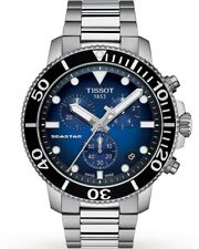 Tissot SEASTAR 1000 Chronograph Stainless Steel Men's Watch T120.417.11.041.01
