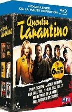 Quentin Tarantino Collection NEW Blu-Ray 6-Disc Set J. Travolta Bruce Willis