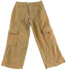 JACADI Boy's Bref String Beige Cotton Corduroy Cargo Pants SZ 8 NWT $58