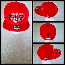 KANSAS CITY CHIEFS NFL FOOTBALL SNAPBACK HAT.