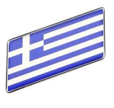Griechenland Aufkleber Sticker Flagge Auto Metall swe selbstklebend KFZ 3D