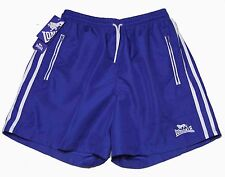 Mens Lonsdale London Athletic Shorts Boxing Blue White Size Medium