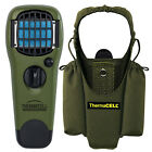 New Thermacell Mosquito Repellent Appliance Refill Mats W/Holster Olive Green