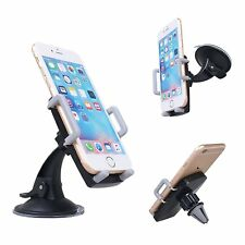 Skiva 3-in-1 Car Mount Cradle Holder Stand for Mobile Smart Cell Phone GPS AH113