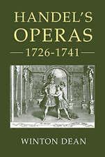 Handel's Operas, 1726-1741 by Dean, Winton