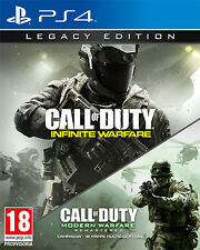Call Of Duty Infinite Warfare Legacy Edition PS4 Playstation 4 IT IMPORT
