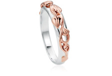 Clogau Silver & Rose Gold Tree of Life Ring