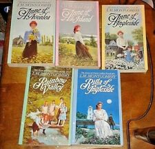 Anne of Green Gables 5 book set includes book numbers: 2, 3, 6, 7, 8