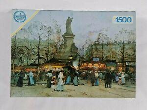 New: Eugene Galien-Laloue Jigsaw Puzzle Art Place de la Republique Paris Vintage