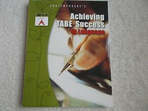 Achieving TABE Success In Language, Level A ... Like New