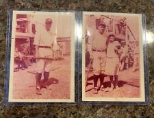 original circa 1930's BABE RUTH & LOU GEHRIG NEW YORK YANKEES BASEBALL PHOTO