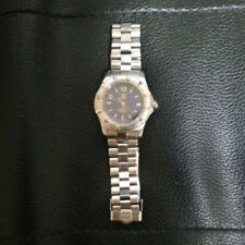 TAG HEUER 2000 Series Professional WK1213 Navy Dial Quartz Men's Watch very good