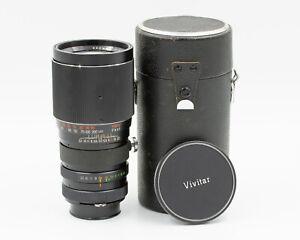 Vivitar 200mm f/3.5 Telephoto Prime Lens T4 Mount f/ Nikon F mount