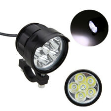 60W XM-L 6LED Cannon CAL Motorcycle Spot Driving Headlight Fog Lamp Universal