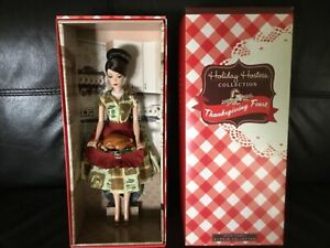 Barbie Thanksgiving Feast Holiday Hostess Doll - New in Box