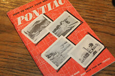 1946 Pontiac Owner's Manual, 56 pages , super complete book