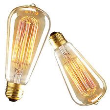 Modern Ceiling Lights Antique Chandelier Lighting Bar Lamp Vintage Pendant Light 4w LED Globe