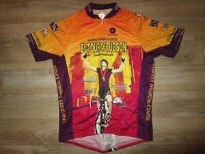 El Tour De Tucson Arizona wildcats Cycling Bicycle pactimo Jersey XL Adult