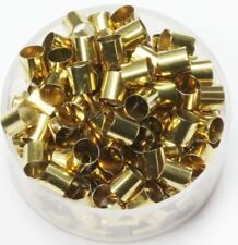 Raw Brass  ( 4 MM Hole  X  5 MM Length ) Tube Spacer Beads  Pkg Of 100