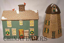 DEPARTMENT 56 Snow Village HOME SWEET HOME 51268 (missing windmill blades)