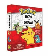USED (VG) Pokemon How-to-Draw Kit: Starting with All-Stars! by Pikachu Press