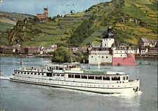 Schiff Passagierschiff AZOLLA Fahrgastschiff passiert Kaub Kauber Pfalz Rhein