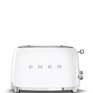 Smeg TSF01WHEU Designlinie Stil Der 50° Jahre, 950W, Weiß