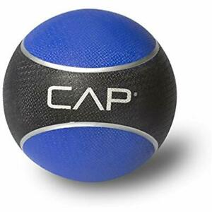 Cap Fitness Medicine Ball 6 Lbs Sturdy Rubber Construction Rubber Durable Sport
