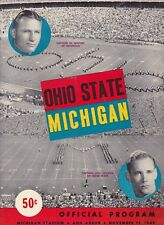 Michigan State Spartans vs Ohio State Buckeyes 1949 college football program