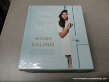 Why Not Me? Mindy Kaling Audio Unabridged CD Read by Author&Greg Daniels/BJNovak