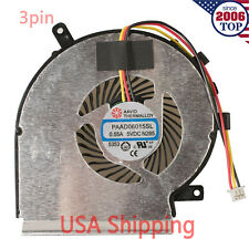 NEW CPU Cooling Fan for MSI GE62 GE72 GL62 GL72 GP62 3 Pin PAAD06015SL