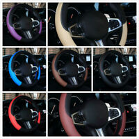 Car Steering Wheel Cover Anti-slip Protector Universal Fit For 38cm Accessories