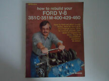 HOW TO REBUILD YOUR FORD V-8 BOOK BY TOM MONROE