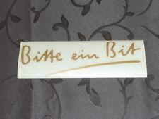 Bitburger - Bitte ein Bit - Aufkleber - 4,5 x 14 cm