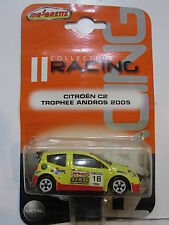 MAJORETTE COLLECTION RACING CITROEN C2 TROPHEE ANDROS 2005  / FROM INDIA