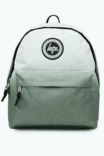 Hype Backpack Rucksack School Bag GREY WHITE SPECKLE FADE BOYS MENS FREE P&P 5