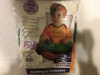 NEW Infant Little Pumpkin Princess Costume Rubies BABIES FIRST HALLOWEEN 0-6m