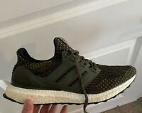 Adidas Ultra Boost 3.0 LTD Trace Cargo Military Green Olive BA7748 Size 8.5