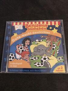 BENJAMIN BLÜMCHEN • 9 • Gute-Nacht-Geschichten • CD • Fußballspaß im Zoo • ab 2