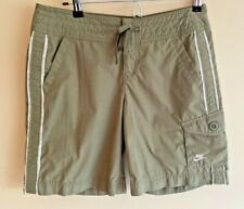 Nike Women's S Shorts Khaki Cargo Outdoor Hiking Army Olive Green