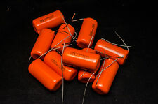10pcs SPRAGUE 715P 0.22uf 600V Film foil capacitors 220nf 224 .22uF Orange Drop