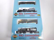 HO Scale Proto 2000 23438 Erie Railroad FA1 FB1 A/B Diesel Locomotive Set