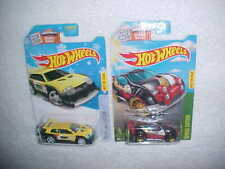 2 HW SCAN & RACE (1) FLIGHT '03 & (1) FAST 4WD VHTF NEW HOT WHEELS DIECAST CARS