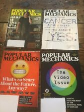Lot of 4 Popular Mechanics Magazines 2017 June July October November