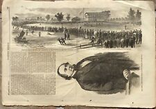 1865 Baseball Championship!  - Brooklyn Atlantics vs. Philadelphia Athletics